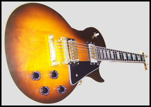 Gibson Les Paul Guitar by L.A. Cargill